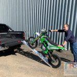 Аппарели сходни для мотоцикла 200 кг